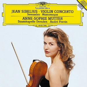 ムター/シベリウス:ヴァイオリン協奏曲、他