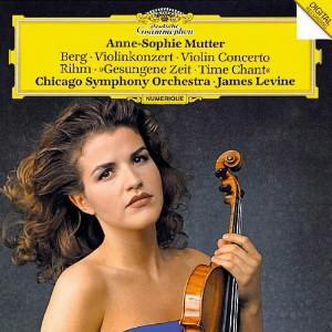 ムター/ベルク:ヴァイオリン協奏曲/リーム:「歌われし時」