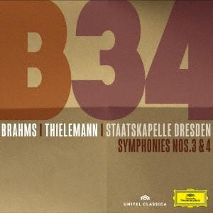 ティーレマン/ブラームス:交響曲第3番&第4番
