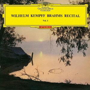 ケンプ/ブラームス:幻想曲集、2つの狂詩曲、カプリッチョ、間奏曲
