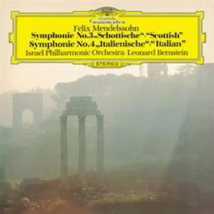 バーンスタイン/メンデルスゾーン:交響曲第3番「スコットランド」&第4番「イタリア」
