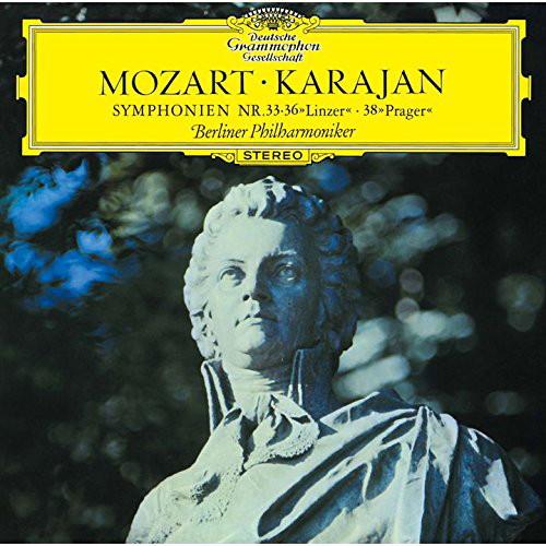 カラヤン/モーツァルト:交響曲第33番&第36番「リンツ」&第38番「プラハ」