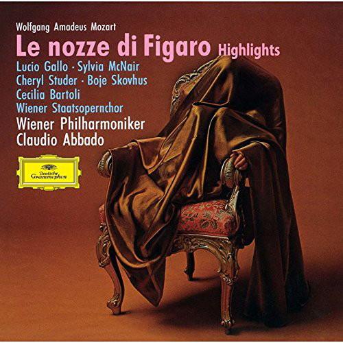 アバド/モーツァルト:歌劇「フィガロの結婚」ハイライト