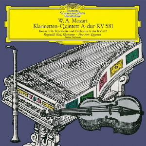 ケル/モーツァルト:クラリネット協奏曲、クラリネット五重奏曲