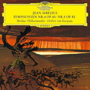 カラヤン/シベリウス:交響曲第4番&第5番