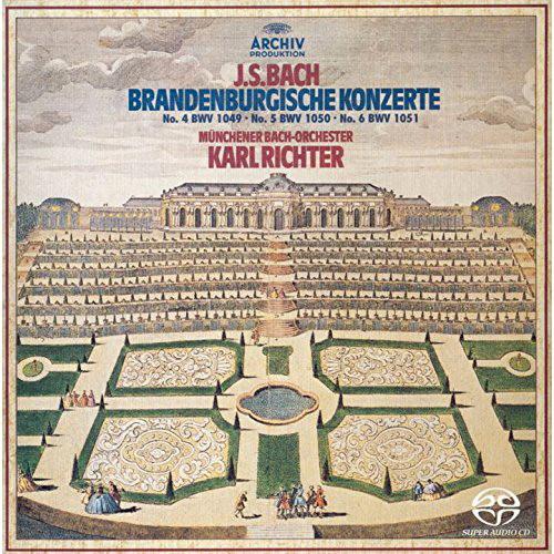 リヒター/バッハ:ブランデンブルク協奏曲第4番-第6番