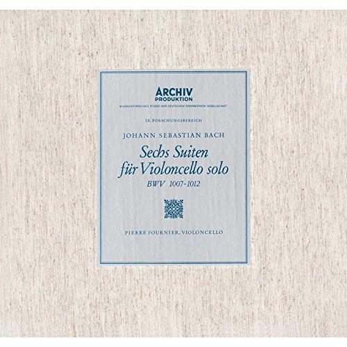 フルニエ/バッハ:無伴奏チェロ組曲 BWV1007-1012