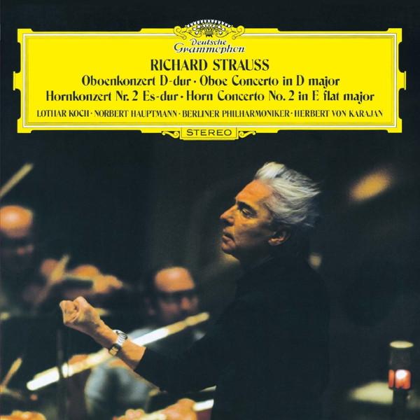 カラヤン/R.シュトラウス:オーボエ協奏曲、ホルン協奏曲第2番