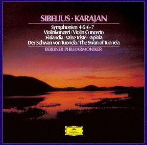カラヤン/シベリウス:交響曲集、ヴァイオリン協奏曲、他