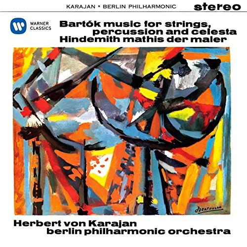 カラヤン/バルトーク:弦楽器、打楽器とチェレスタのための音楽、ヒンデミット:画家マチス