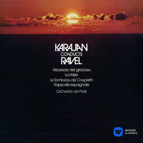 カラヤン/ラヴェル:スペイン狂詩曲 道化師の朝の歌 クープランの墓