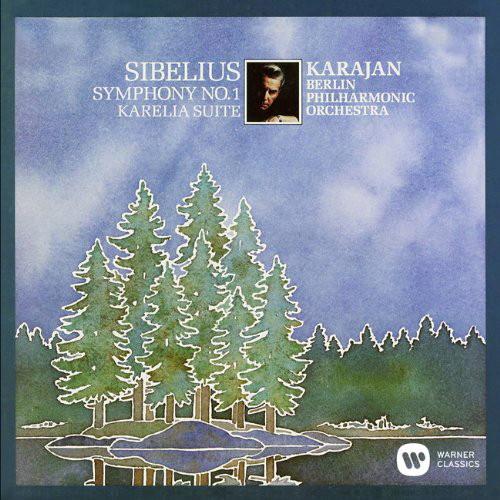 カラヤン/シベリウス:交響曲第1番、「カレリア」組曲