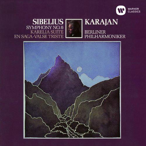 カラヤン/シベリウス:交響曲第6番、悲しきワルツ