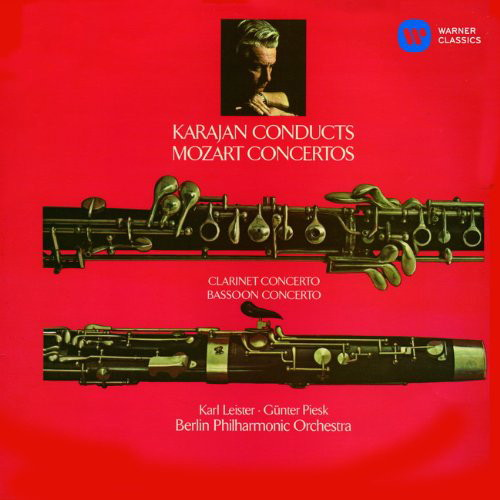 カラヤン/モーツァルト:クラリネット協奏曲、バスーン協奏曲