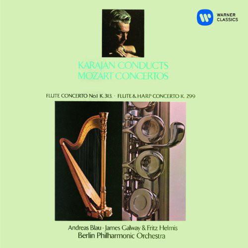 カラヤン/モーツァルト:フルート協奏曲第1番 他