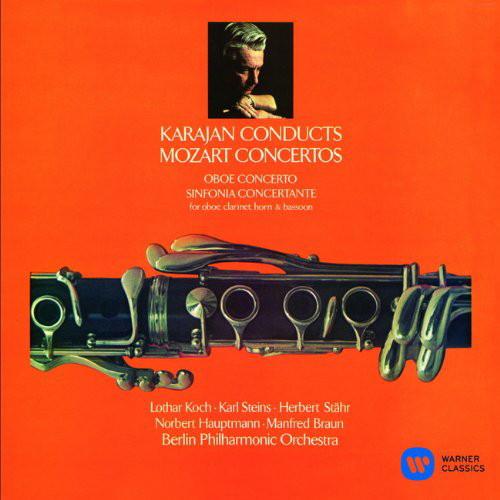 カラヤン/モーツァルト:オーボエ協奏曲、協奏交響曲