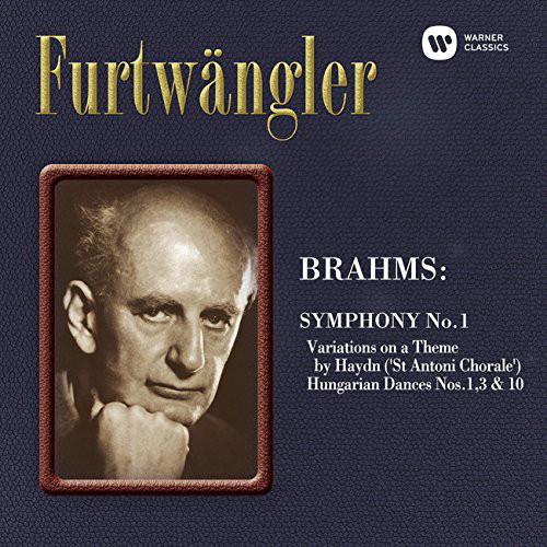 フルトヴェングラー/ブラームス:交響曲第1番 他