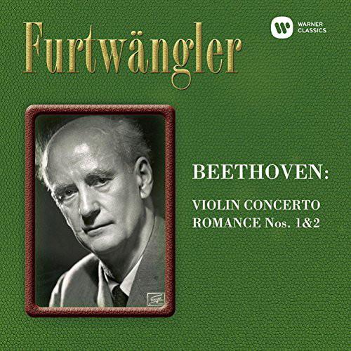 フルトヴェングラー/ベートーヴェン:ヴァイオリン協奏曲&ロマンス第1、第2番