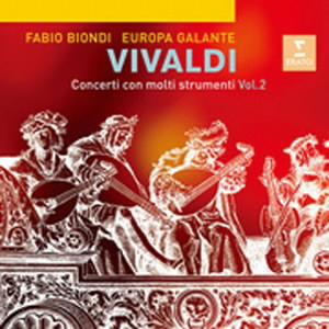 ビオンディ/ヴィヴァルディ:様々な楽器のための協奏曲集第2集