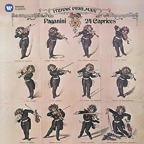 パールマン/パガニーニ:24のカプリース(奇想曲)全曲(2015リマスター)