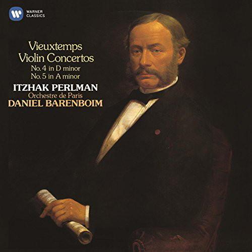 パールマン/ヴュータン:ヴァイオリン協奏曲第4番&第5番(2015リマスター)