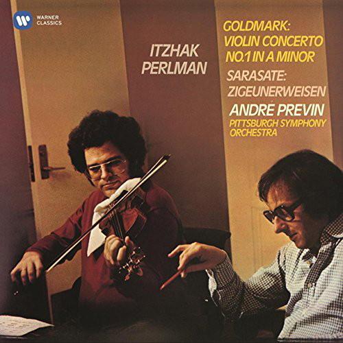 パールマン/ゴルトマルク:ヴァイオリン協奏曲第1番、サラサーテ:ツィゴイネルワイゼン