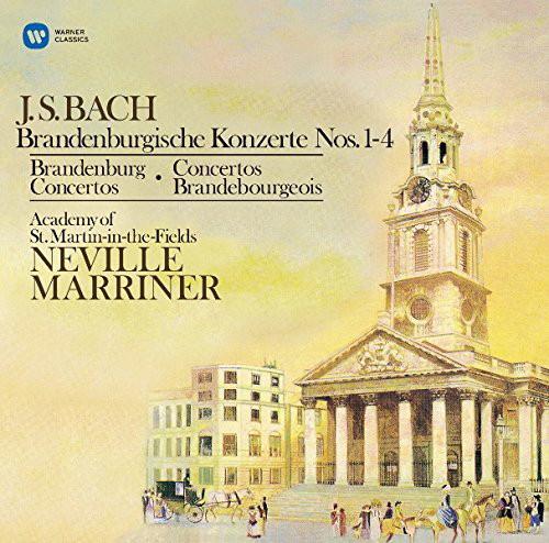 マリナー/バッハ:ブランデンブルク協奏曲第1番〜第4番