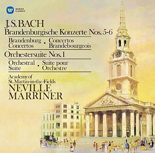 マリナー/バッハ:ブランデンブルク協奏曲第5番、第6番 他