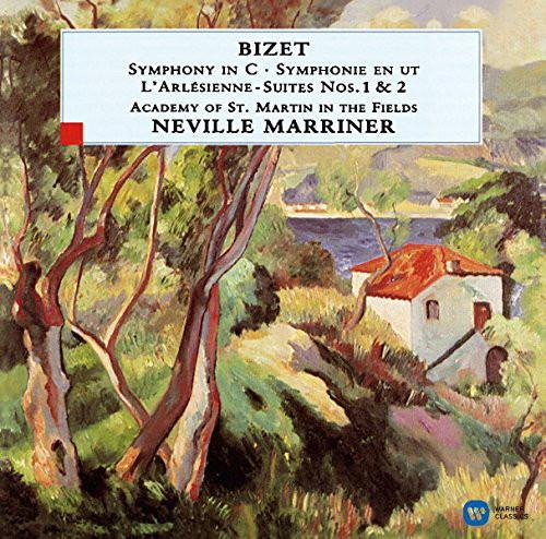 マリナー/ビゼー:交響曲ハ長調、「アルルの女」第1組曲、第2組曲