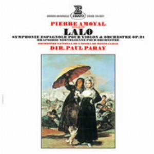 アモイヤル/ラロ:スペイン交響曲、ノルウェー狂詩曲