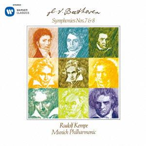 ケンペ/ベートーヴェン:交響曲第7番、第8番