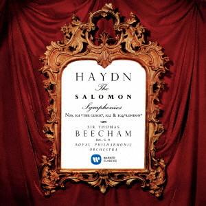 ビーチャム/ハイドン:交響曲第101番「時計」 第102番 第104番「ロンドン」