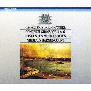 アーノンクール/ヘンデル:合奏協奏曲 作品3&6(全曲)
