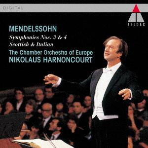 アーノンクール/メンデルスゾーン:交響曲「イタリア」「スコットランド」