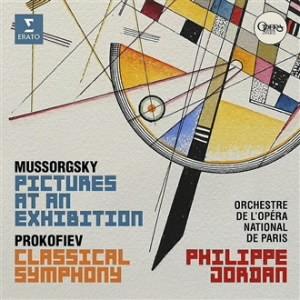 ジョルダン/ムソルグスキー/ラヴェル編:組曲「展覧会の絵」、プロコフィエフ:「古典交響曲」(SACDハイブリッド)