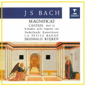 ラ・プティット・バンド/J.S.バッハ:マニフィカト BWV243 & カンタータ BWV21