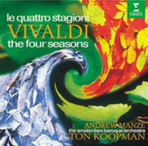 コープマン/ヴィヴァルディ:ヴァイオリン協奏曲集「四季」 他