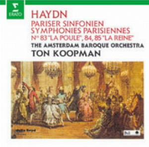 コープマン/ハイドン:パリ交響曲集(第83、84、85番)