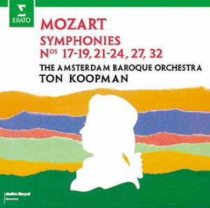 コープマン/モーツァルト:初期交響曲集(第17-19,21-24,27,32番)