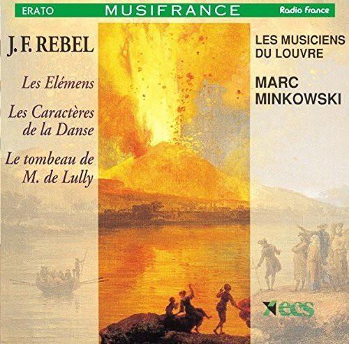 ミンコフスキ/ルベル:バレエ音楽『四大元素』、他