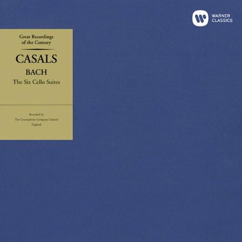 カザルス/バッハ:無伴奏チェロ組曲(全曲)