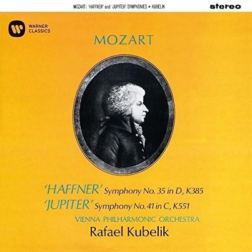 クーベリック/モーツァルト:交響曲第35番「ハフナー」、第41盤「ジュピター」(UHQCD)