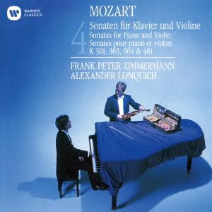 ツィンマーマン/モーツァルト:ヴァイオリン・ソナタK301,303,304&481(UHQCD)