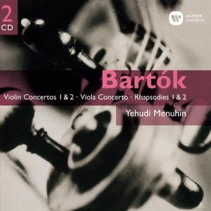 メニューイン/バルトーク:ヴァイオリン協奏曲第1番&第2番/ヴィオラ協奏曲