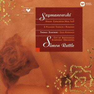 ツェートマイア/シマノフスキ:ヴァイオリン協奏曲第1番&第2番