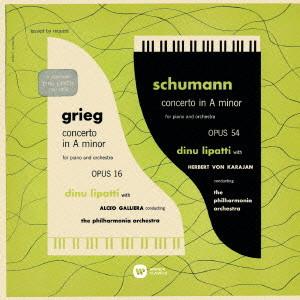 リパッティ/シューマン&グリーグ:ピアノ協奏曲