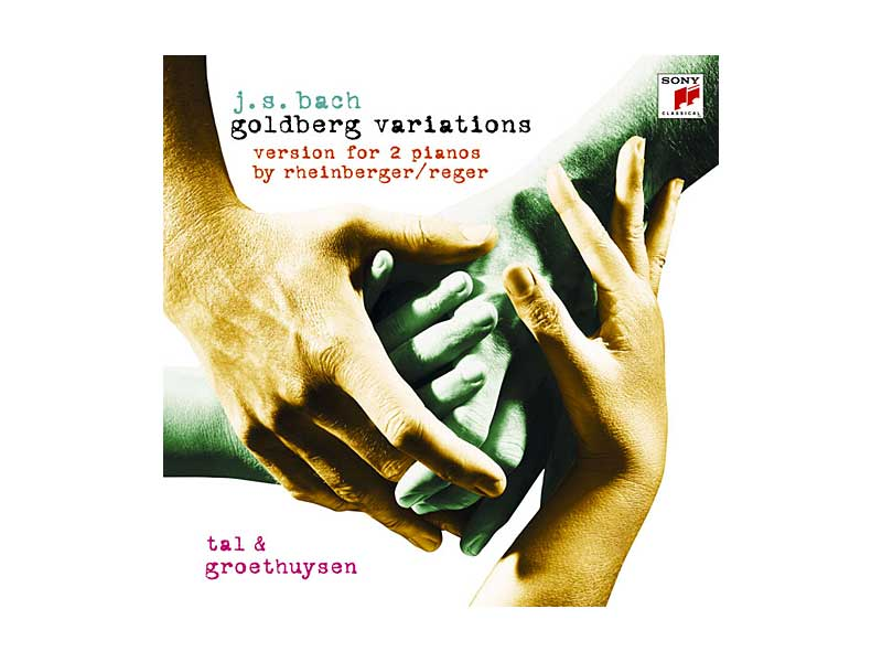 タール&グロートホイゼン/バッハ:ゴールドベルク変奏曲(2台ピアノ版 ラインベルガー/レーガー編)