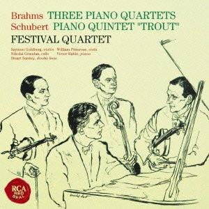 フェスティヴァル四重奏団/ブラームス:ピアノ四重奏曲全集&シューベルト:ます