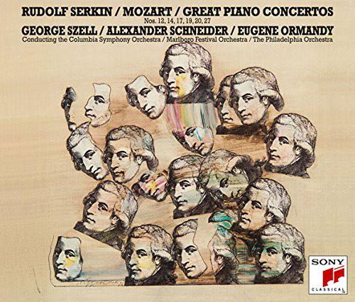 ゼルキン/モーツァルト:ピアノ協奏曲第12、14、17、19、20&27番&2台のピアノのための協奏曲