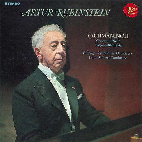 ルービンシュタイン/ラフマニノフ:ピアノ協奏曲第2番&パガニーニ狂詩曲(1956年録音)